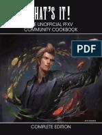 Unofficial FFXV Cookbook