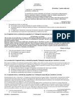 Examen Diagnóstico Español 1