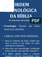 Ordem Cronologica Da Biblia