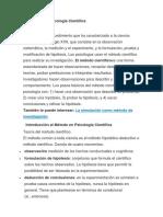 El Método en Psicología Científica.docx