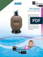 Filter Pro Series Top Mount Hayward
