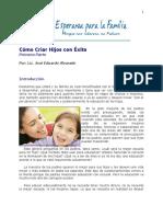 Como Educar a Los Hijos El Amor y La Diciplina