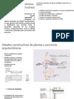 Planos Arquitectónicos de Detalles Constructivos
