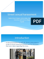 Street Sexual Harassment