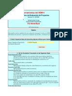 Herramientas Del HDM-4 - Resultados de Evaluacion de Proyec