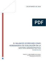 Balace Scorecard