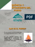 Química y Comportamiento Del Fuego