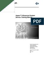 Acuson Aspen - Service Training Manual
