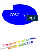 5 Sem. COSO I, II Y III Componentes Del C.I.