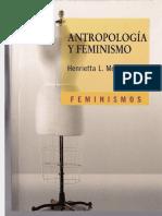 Moore, Henrietta - Antropología Y Feminismo.pdf