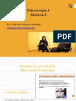 Semana 3 La Psicoterapia como proceso. Las diversas etapas de un proceso psicoterapéutico estándar. .pdf