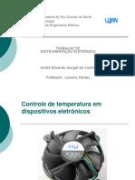 Controle de Temperatura Em Dispositivos Eletrnicos