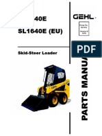 1640E-1640E(EU) Skid Loader Parts Manual, 917374E