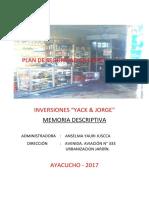 Plan de Seguridad en Defensa Civil