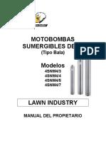 36 Manual de Bombas Sumergibles 4snm4 36