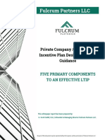 Private Company // Long Term Incentive Plan Design Template Guidance