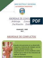 Abordaje de Conflictos Arbitraje y Otros