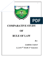 A COMPARATIVE STUDY OF RULE OF LAW-GARIMA YADAV (5).docx