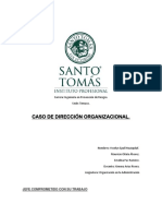 CASO DE DIRECCIÓN ORGANIZACIONAL..docx