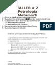 Condiciones y Normas Para La Elaboración Del TALLER 2 de Petrología