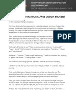 1. GDD Fundamentals - Transcript.V2