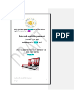 DRAFT IA Audit Report on RM Post Implementations with changes new.docx