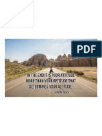 In the End It is Your Attitude More Than Your Aptitude That Determines Your Altitude. - Brian Tracy ...