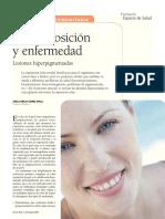 fotoexposicion y enfermedad