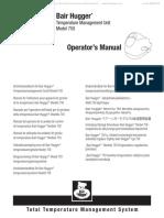 Arizant Bair Hugger 750 - Operators Manual