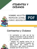 Océanos y Continentes Agustin Manuel Ortiz Cerna