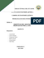 Grupo N_2 Objetivos de La ONU Del 9 Al 17