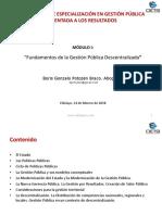 Modulo Fundamentos Gestion Publica Bpb