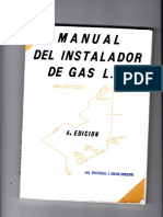 Manual Del Instalador de Gas