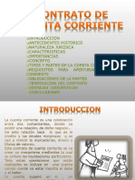 Contrato de Cuenta Corriente (Diapositivas)