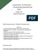 Risk Assessment - Chapter 20