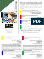 SERC's 2010-2011 Technology in Education (TIE) Professional Development Opportunities