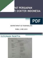 Rapat HBDI 2 Mei 2018