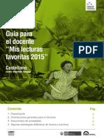 Lecturas Guia Castellano ECE 2015