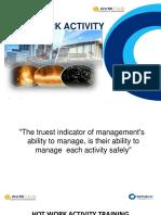 Hot Work Activity Safety Training Presentation 2018