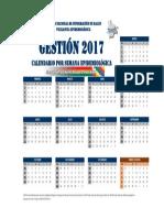 Calendario EPIDEMIOLOGICO_2017