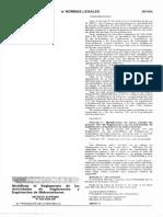 D.S N° 049-2009 Modificación Art. 113° - D.S N 032-2004-EM