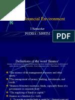 Business Financial Environment