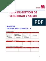 PGSSO 2018 Trituracion y Servicios S.A