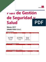 Plan de Gestión de Seguridad y Salud V01 - SINAR