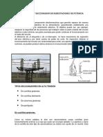 Interruptor y Seccionador en Subestaciones de Potencia