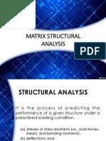 Matrix Structural Analysis (Truss)