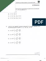 Examen de Bachillerato Por Madurez 2016