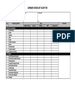 Checklist 3R for Audit