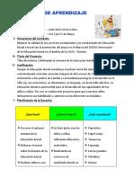 Proyecto de Aprendizaje Dia Del Inicial