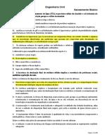 Saneamento Básico Exercícios -Gabarito.pdf